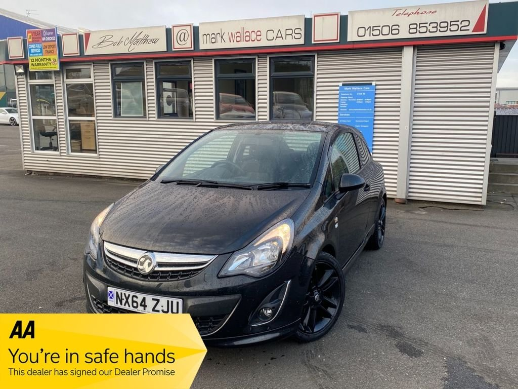 USED 2014 64 VAUXHALL CORSA 1.2 LIMITED EDITION 3d