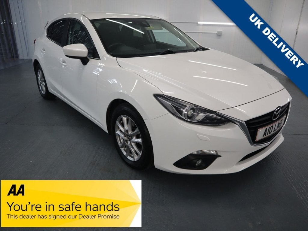 USED 2015 A MAZDA 3 2.0 SE-L NAV 5d 118 BHP THIS AUTOMATIC 2 LTR 118BHP SE MODEL IS QUICK, PRETTY AND NIMBLE