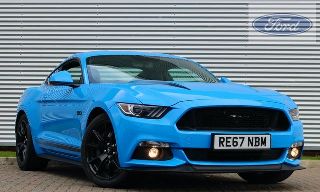 2017 67 FORD MUSTANG 5.0 V8 GT SHADOW EDITION 2d AUTO 422 PS