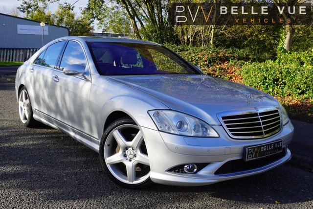 USED 2008 08 MERCEDES-BENZ S-CLASS 5.5 S500 4d 383 BHP *ONLY 78K MILES, 10 SERVICE STAMPS, WELL SPECCED!*