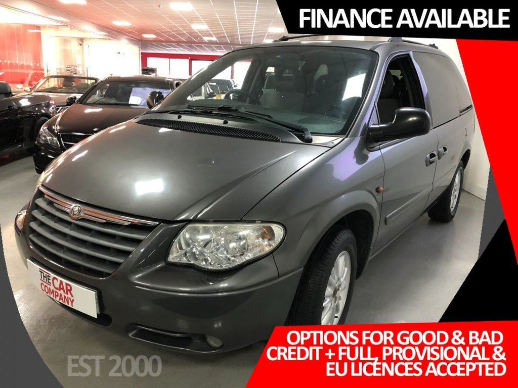 USED 2005 55 CHRYSLER VOYAGER 2.8 LX 5d 150 BHP * 7 SEATS * CLIMATE CONTROL  * MOT SEPT 2021 *