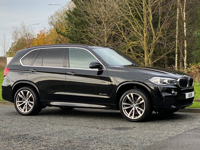 USED 2014 14 BMW X5 3.0 XDRIVE40D M SPORT 5d 309 BHP Glass Panoramic Roof