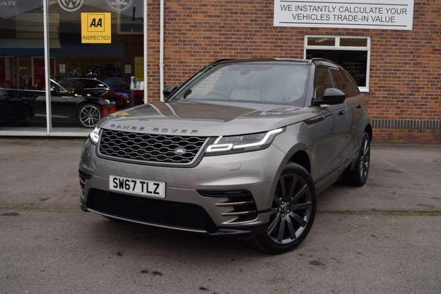 USED 2017 67 LAND ROVER RANGE ROVER VELAR 2.0 R-DYNAMIC S 5d 177 BHP FINANCE TODAY WITH NO DEPOSIT - LAND ROVER SERVICE HISTORY