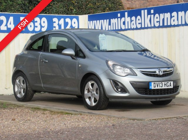 USED 2013 13 VAUXHALL CORSA 1.2 SXI 3d 83 BHP VERY CLEAN LITTLE CORSA