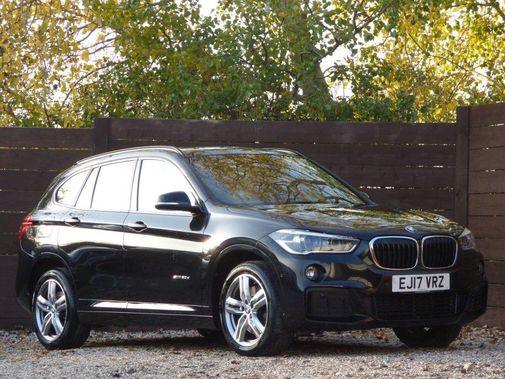 USED 2017 17 BMW X1 2.0 XDRIVE20D M SPORT 5d 188 BHP