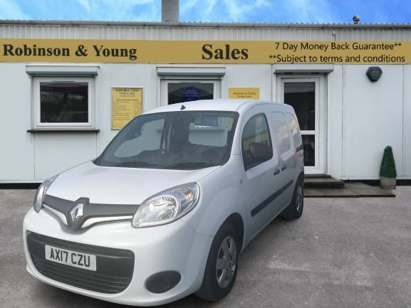 USED 2017 17 RENAULT KANGOO 1.5 ML19 BUSINESS PLUS ENERGY DCI 90 BHP EURO 6 AIR CON