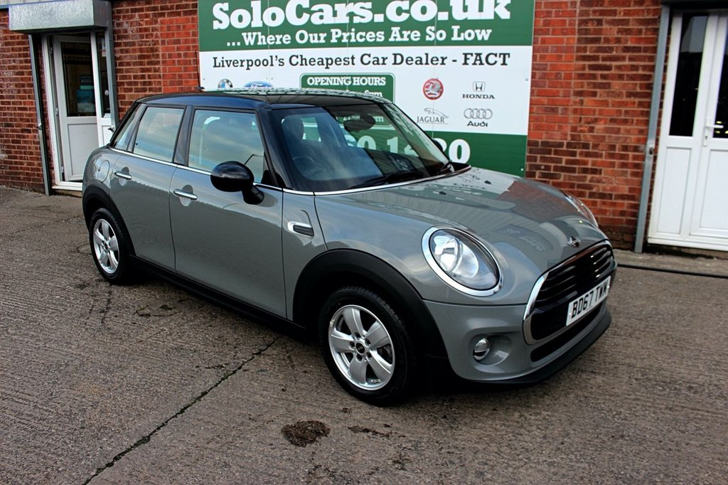 USED 2017 67 MINI HATCH COOPER 1.5 COOPER 5d 134 BHP +AUDIO BOOST STEREO +SERVICED.