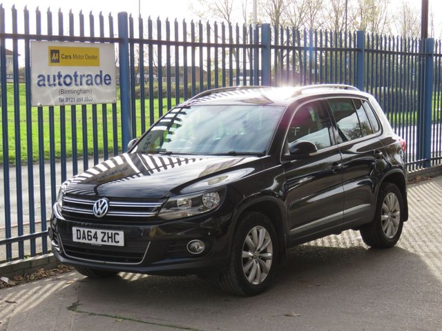 USED 2014 64 VOLKSWAGEN TIGUAN 2.0 MATCH TDI BLUEMOTION TECH 4MOTION DSG 5d 139 BHP Automatic with SatNav