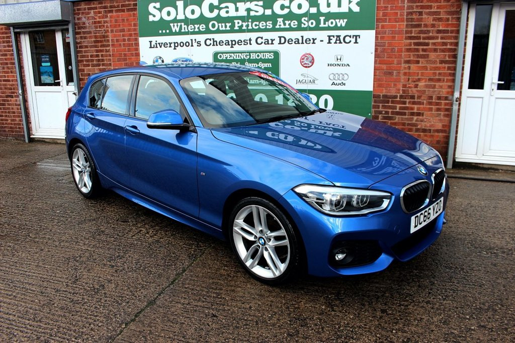 USED 2016 66 BMW 1 SERIES 1.5 116D M SPORT 5d 114 BHP +M SPORT +BEST COLOUR +NAV.