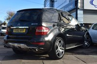 USED 2010 60 MERCEDES-BENZ M-CLASS 6.2 ML63 AMG 4MATIC 5d 503 BHP FINANCE FROM £399 PER MONTH £0 DEPOSIT