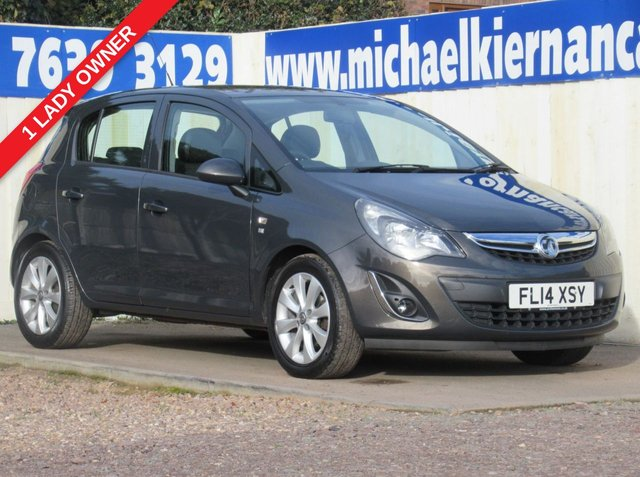 USED 2014 14 VAUXHALL CORSA 1.2 EXCITE AC 5d 83 BHP VERY CLEAN CAR THROUGHOUT