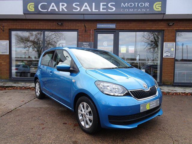 USED 2018 18 SKODA CITIGO 1.0 SE MPI 5d 59 BHP ONE OWNER FROM NEW, FULL SERVICE HISTORY, SKODA WARRANTY TILL JULY 2021, 2 KEYS, CLEAN CAR INSIDE AND OUT, 5 STAR RATED DEALERSHIP - BUY WITH CONFIDENCE