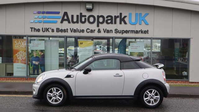 USED 2013 13 MINI COUPE 1.6 COOPER 2d 120 BHP . LOW DEPOSIT OR NO DEPOSIT FINANCE AVAILABLE . COMES USABILITY INSPECTED WITH 30 DAYS USABILITY WARRANTY + LOW COST 12 MONTHS USABILITY WARRANTY AVAILABLE FOR ONLY £199 (DETAILS ON REQUEST). ALWAYS DRIVING DOWN PRICES . BUY WITH CONFIDENCE . OVER 1000 GENUINE GREAT REVIEWS OVER ALL PLATFORMS FROM GOOD HONEST CUSTOMERS YOU CAN TRUST .