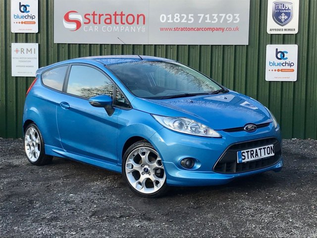 USED 2009 59 FORD FIESTA 1.6 ZETEC S 3d 118 BHP ONLY 24654 MILES