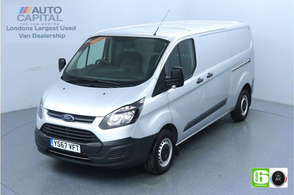 USED 2018 67 FORD TRANSIT CUSTOM 2.0 290 L2 H1 105 BHP Euro 6 Low Emission Air Conditioning | UK Delivery