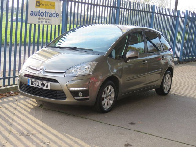 USED 2013 13 CITROEN C4 PICASSO 1.6 EDITION 5d 118 BHP. REAR PARKING SENSORS Rear Sensors-Privacy Glass-C/D Player-Electric Windows-Air-Con
