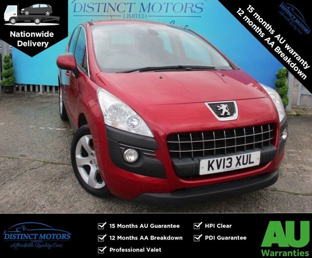 USED 2013 13 PEUGEOT 3008 1.6 E-HDI ACTIVE 5d 115 BHP