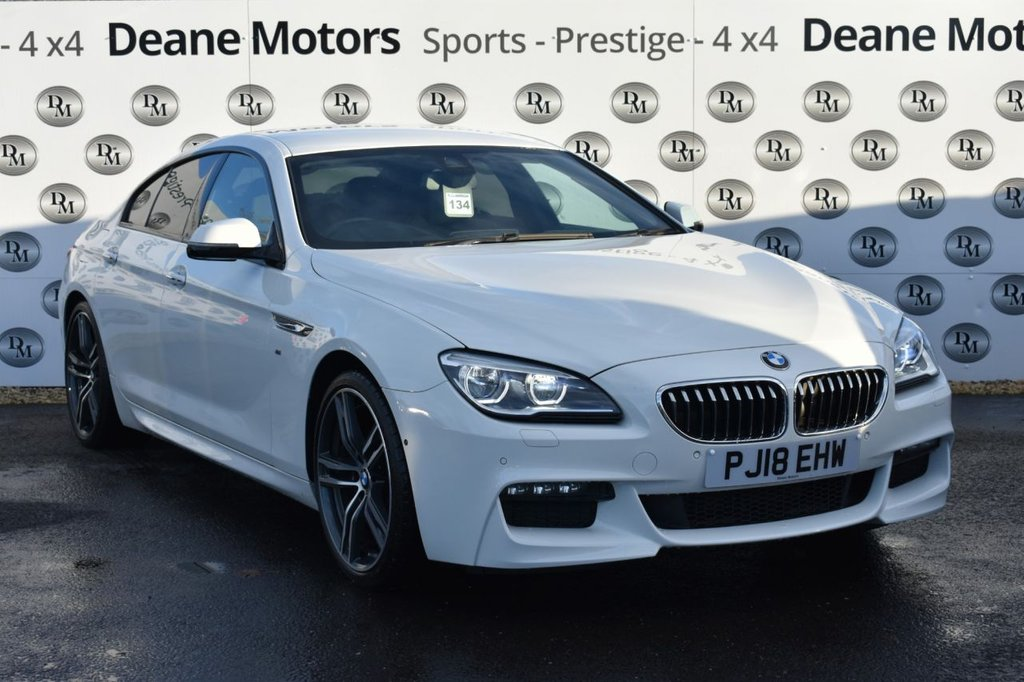 USED 2018 18 BMW 6 SERIES 3.0 640D M SPORT GRAN COUPE 4d 309 BHP