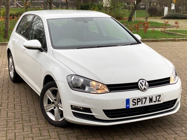 USED 2017 17 VOLKSWAGEN GOLF 1.6 MATCH EDITION TDI BMT 5d 109 BHP