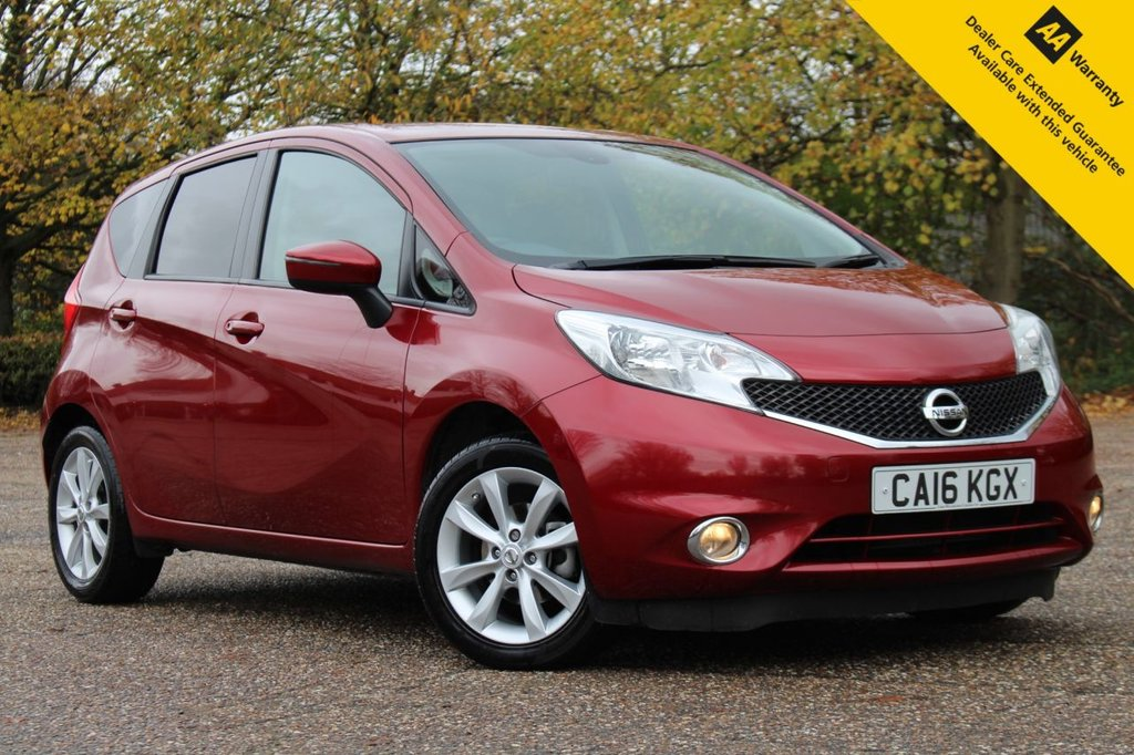 USED 2016 16 NISSAN NOTE 1.2 ACENTA PREMIUM DIG-S 5d 98 BHP ** GREAT VALUE LOW MILEAGE PETROL AUTOMATIC ** FULL SERVICE HISTORY ** LONG MOT ** SATELLITE NAVIGATION ** REAR PARKING AID ** CRUISE CONTROL ** BLUETOOTH ** DAB RADIO ** ULEZ CHARGE EXEMPT ** ONLY £30 ROAD TAX ** LOW RATE £0 DEPOSIT FINANCE AVAILABLE ** CLICK & COLLECT AVAILABLE ** NATIONWIDE DELIVERY AVAILABLE **