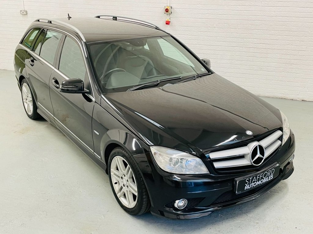 USED 2009 59 MERCEDES-BENZ C-CLASS 2.1 C220 CDI BLUEEFFICIENCY SPORT 5d AUTO 170 BHP CRUISE CONTROL, GOOD HISTORY, FINANCE AVAILABLE