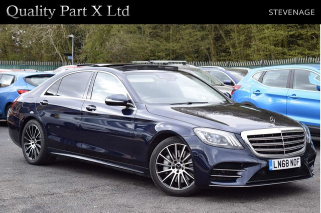 USED 2018 68 MERCEDES-BENZ S-CLASS 3.0 S350L d AMG Line (Executive) G-Tronic+ (s/s) 4dr SATNAV,SUNROOF,LED,CAMERA