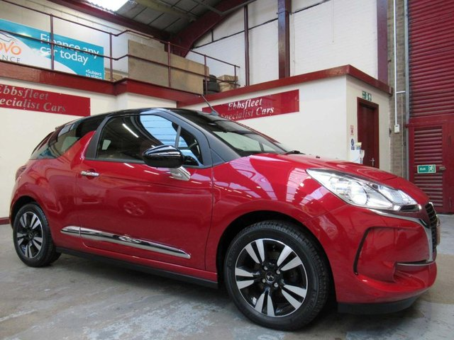 USED 2018 18 DS DS 3 1.6 BlueHDi Chic Cabriolet (s/s) 2dr ***8300 MILES ONLY F/S/H***