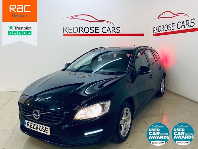 USED 2017 67 VOLVO V60 2.0 D4 BUSINESS EDITION LUX 5d 187 BHP FULL SRVC, 1 OWNER, SATNAV