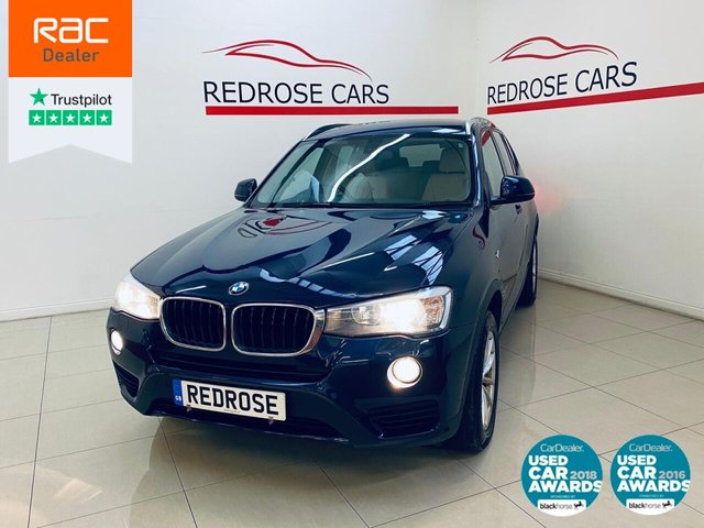 USED 2015 65 BMW X3 2.0 XDRIVE20D SE 5d 188 BHP FULL BMW SRVC, 1 OWNER, SATNAV