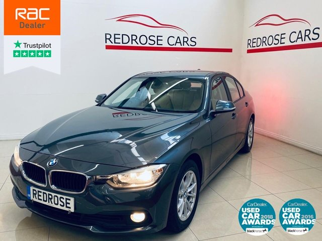 USED 2016 66 BMW 3 SERIES 2.0 320D ED PLUS 4d 161 BHP SRVC HISTORY, 1 OWNER, SATNAV