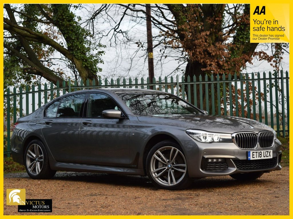 USED 2018 18 BMW 7 SERIES 3.0 730D XDRIVE M SPORT 4d 261 BHP