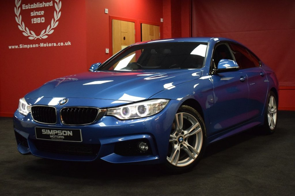 USED 2015 15 BMW 4 SERIES 2.0 420D M SPORT GRAN COUPE 4d 181 BHP
