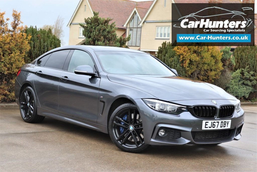 USED 2017 67 BMW 4 SERIES 3.0 430D XDRIVE M SPORT GRAN COUPE 4d 255 BHP