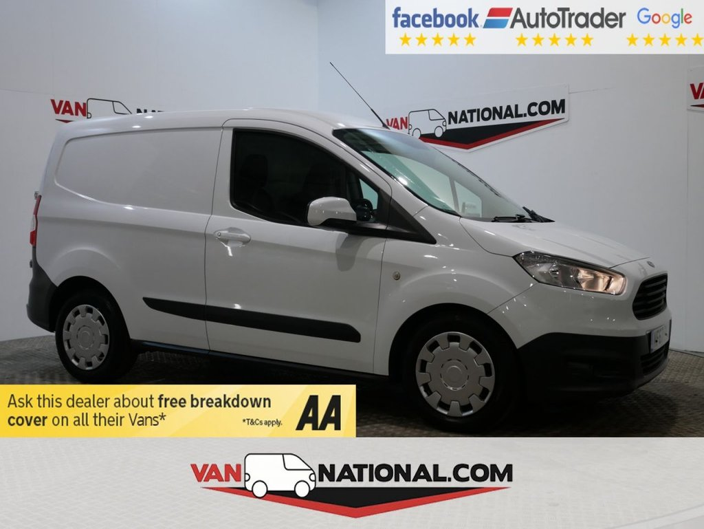 USED 2017 67 FORD TRANSIT COURIER 1.5 TREND TDCI 75 BHP ( *SAT NAV*AIR CON*EURO 6*) * ONE OWNER * EURO 6 * NAV * DAB * ZERO DEPOSIT FINANCE AVAILABLE *