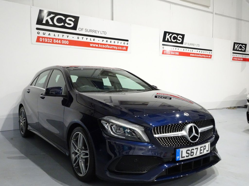 USED 2017 67 MERCEDES-BENZ A-CLASS 1.6 A 200 AMG LINE PREMIUM PLUS 5d 154 BHP PAN ROOF - EXCLUSIVE PACK