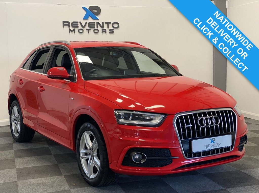 USED 2014 14 AUDI Q3 2.0 TDI QUATTRO S LINE 5d 175 BHP | CLICK & COLLECT | NATIONWIDE DELIVERY AVAILABLE