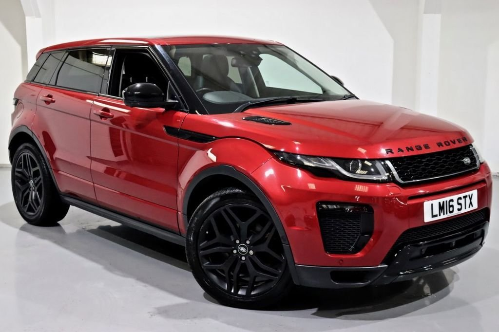 USED 2016 16 LAND ROVER RANGE ROVER EVOQUE 2.0 TD4 HSE DYNAMIC LUX 5d 177 BHP