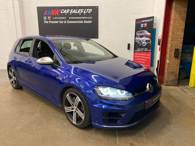 2014 14 VOLKSWAGEN GOLF 2.0 R DSG 5d 298 BHP  LEATHERS SAT NAV DSG LOW MILES ONLY DONE 43K WITH FULL VW SERVICE HISTORY UPTO 40K  SOLD TO MR HASSAN FROM SHEFFIELD