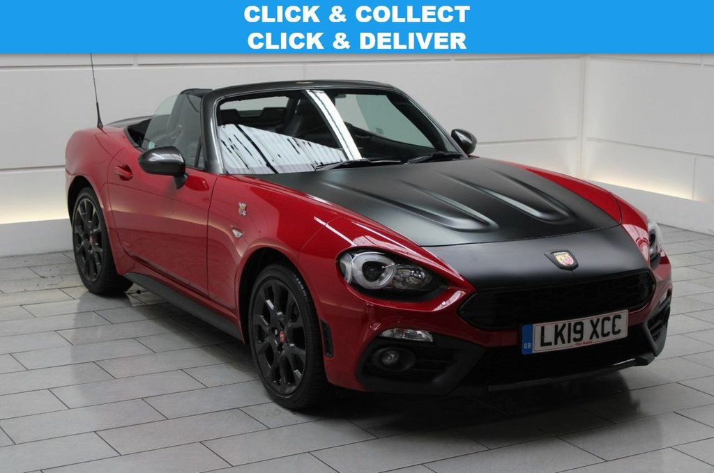 USED 2019 19 ABARTH 124 1.4 MultiAir Spider Roadster