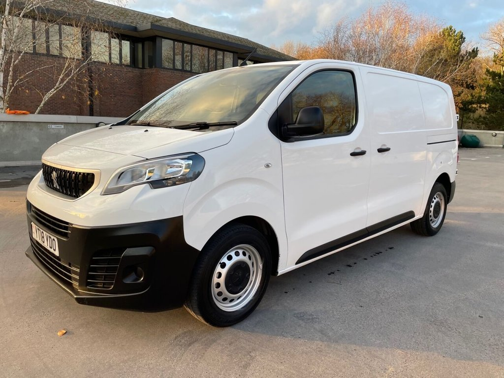 USED 2018 18 PEUGEOT EXPERT PROFESSIONAL 2.0BlueHDi 120ps STANDARD 1400KG PAYLOAD *AIRCON*BLUETOOTH* AIRCON-BLUETOOTH-1400KG LOAD