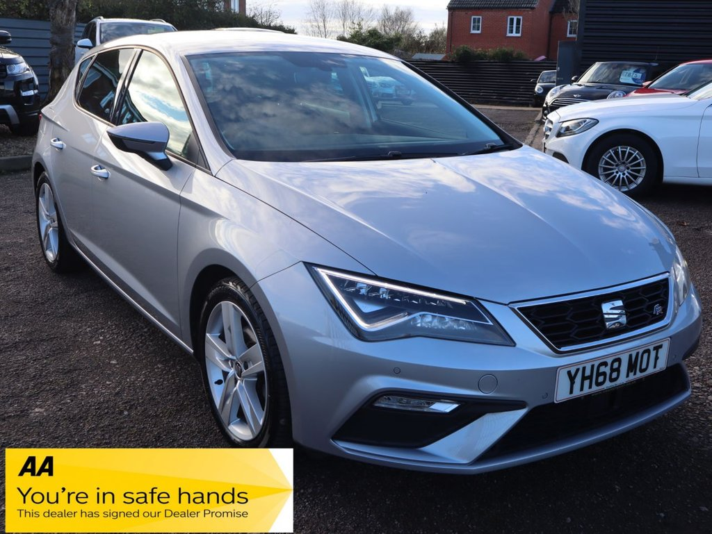 USED 2019 68 SEAT LEON 1.5 TSI EVO FR 5d 129 BHP *CLICK AND COLLECT OR DELIVERY AVAIABLE.