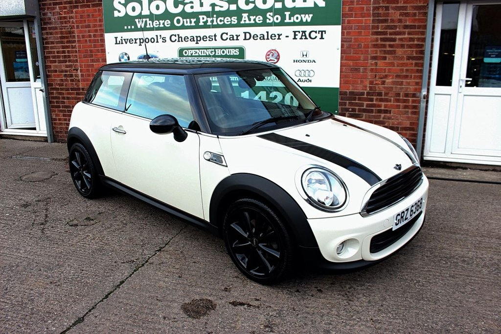 USED 2013 MINI HATCH ONE 1.6 ONE BAKER STREET 3d 96 BHP +BAKER ST +HALF LEATHER +DAB