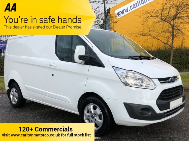 2017 17 FORD TRANSIT CUSTOM 270 TDCi 130 LIMITED L1 H1 L/R ALLOYS A/C CRUISE  P/V