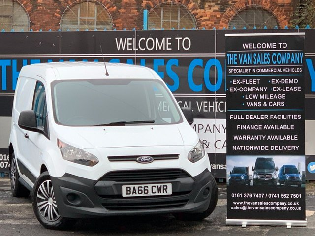 USED 2017 66 FORD TRANSIT CONNECT 1.5 220 P/V 100 BHP