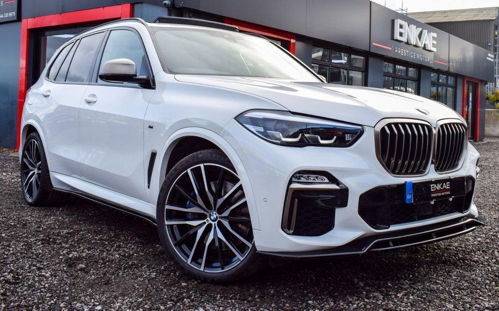 USED 2019 19 BMW X5 3.0 M50D 5d 395 BHP SKY LOUNGE 7 SEATS
