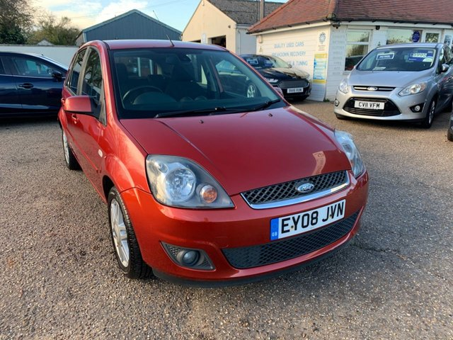 USED 2008 08 FORD FIESTA 1.4 GHIA 16V 5d 80 BHP ONE YEAR WARRANTY INCLUDED