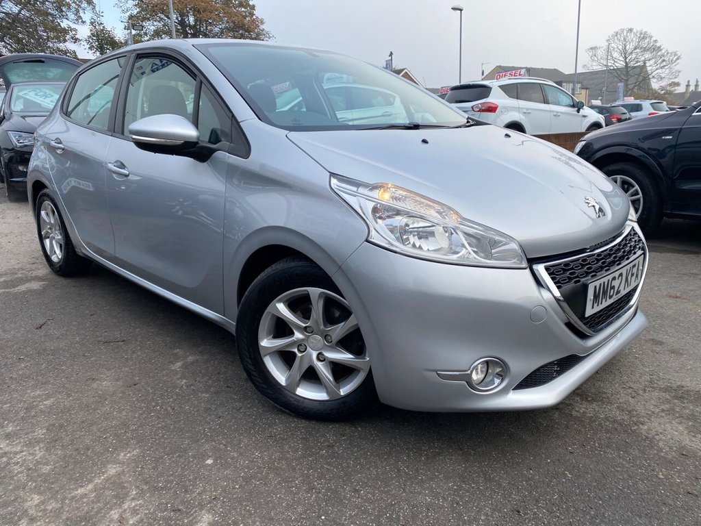 USED 2013 62 PEUGEOT 208 1.4 ACTIVE 5d 95 BHP