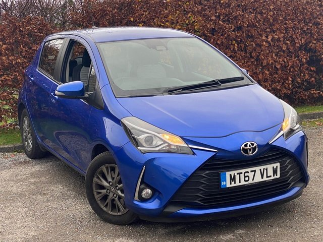 USED 2017 67 TOYOTA YARIS 1.5 VVT-I ICON TECH 5d 110 BHP * 1 OWNER FROM NEW * 128 POINT AA INSPECTED * LOW MILEAGE CAR *