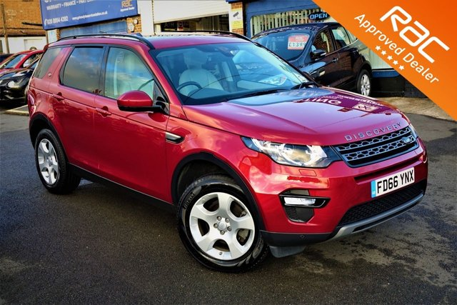 2016 66 LAND ROVER DISCOVERY SPORT 2.0 TD4 SE TECH 5d 150 BHP