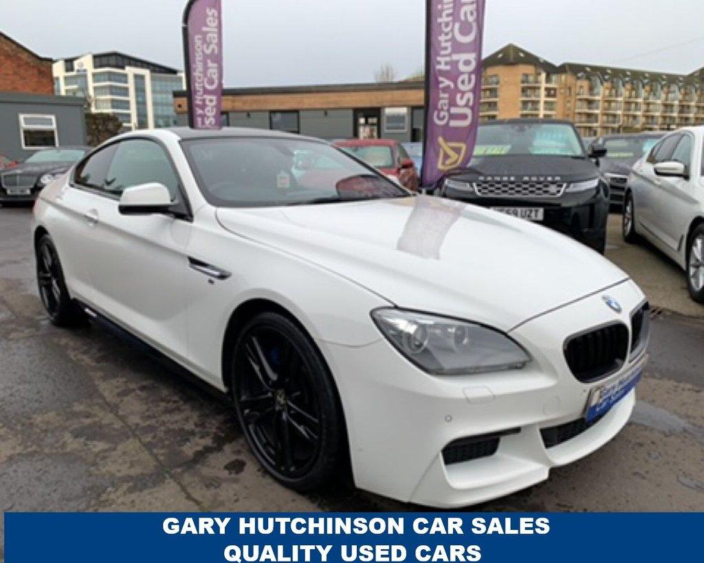 USED 2013 G BMW 6 SERIES 640D M SPORT 2d 309 BHP AUTO